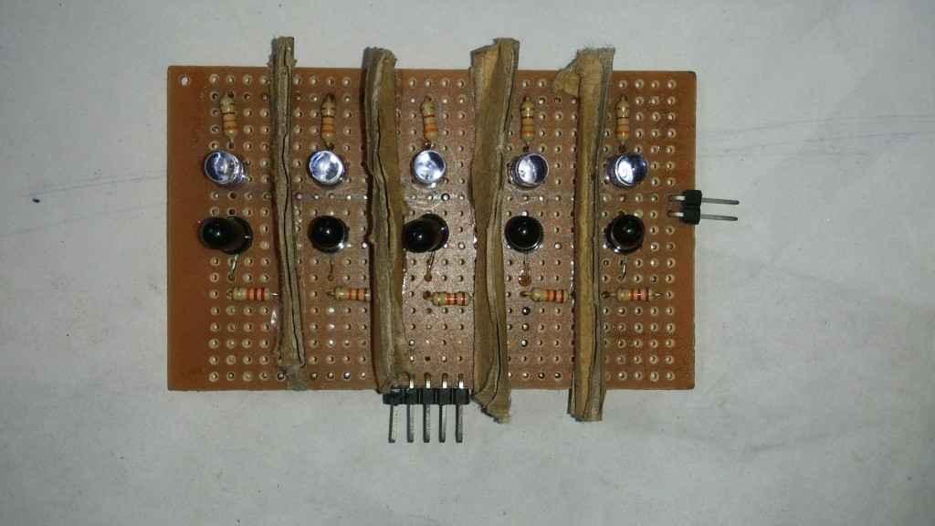 Line following sensor array